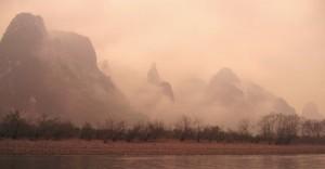 Panoramic wetness, Yangshuo style!